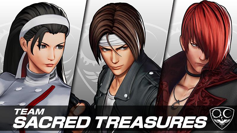 Conoce al equipo Sacred Treasures de The King Of Fighters XV