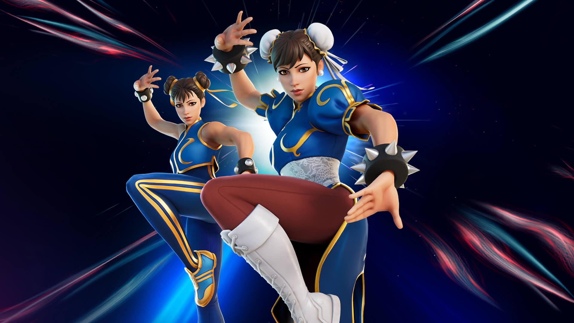 Street Fighter x Fortnite Chun-Li