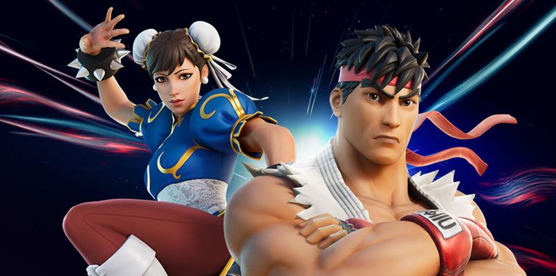 Ryu y Chun-Li llegan a Fortnite para asegurar el Punto Cero