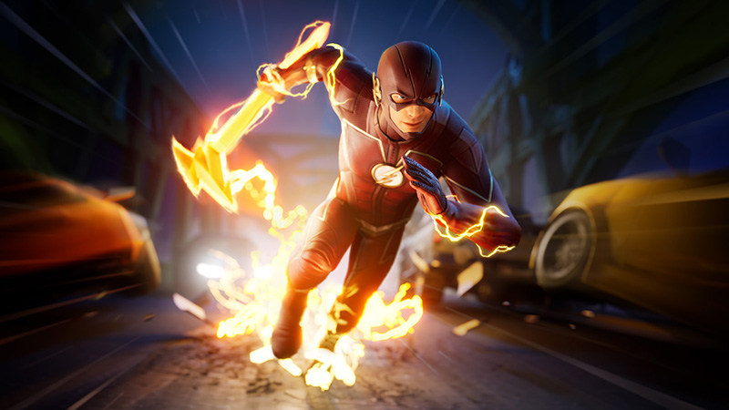 A partir de esta fecha The Flash de CW estará llegando a Fortnite