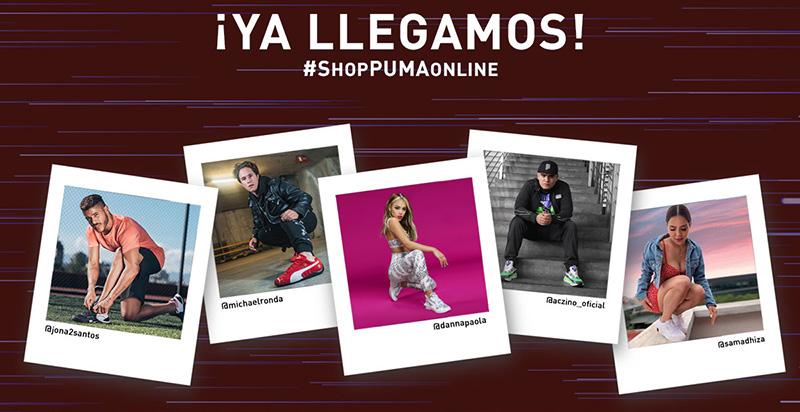 PUMA presenta su nueva tienda en línea exclusiva para México