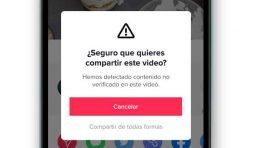 TikTok se mejora y va contra el contenido falso y engañoso