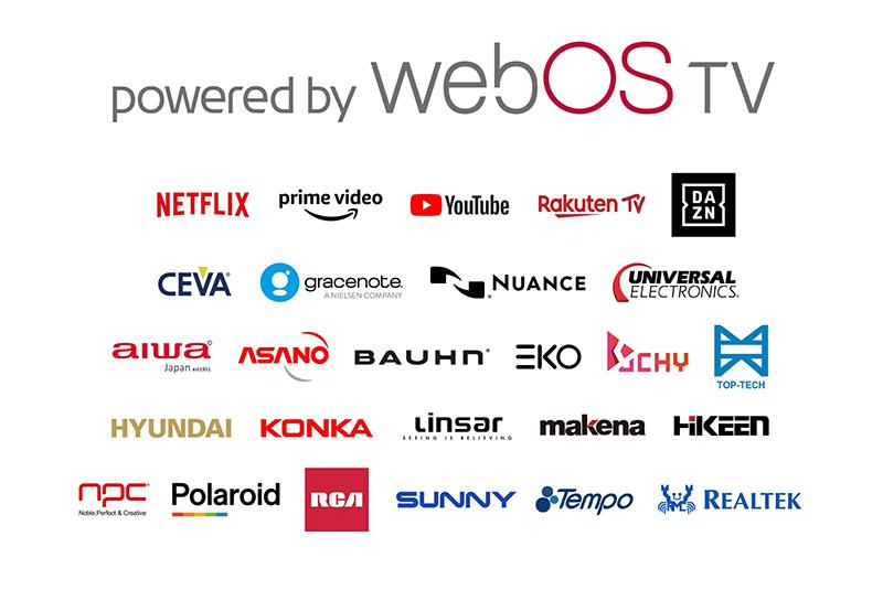webOS TV marcas