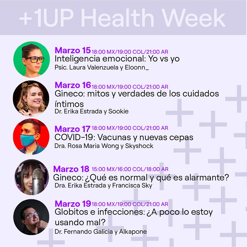 1Up Health Week Twitch 2021 1