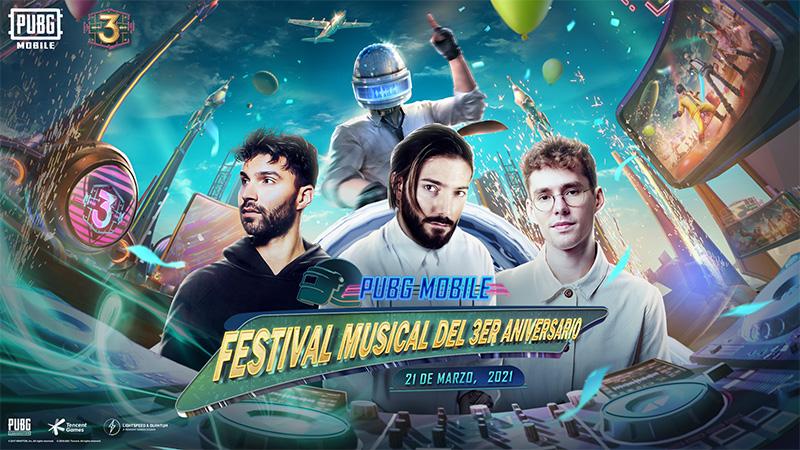 PUBG MOBILE celebra su tercer año con un evento especial