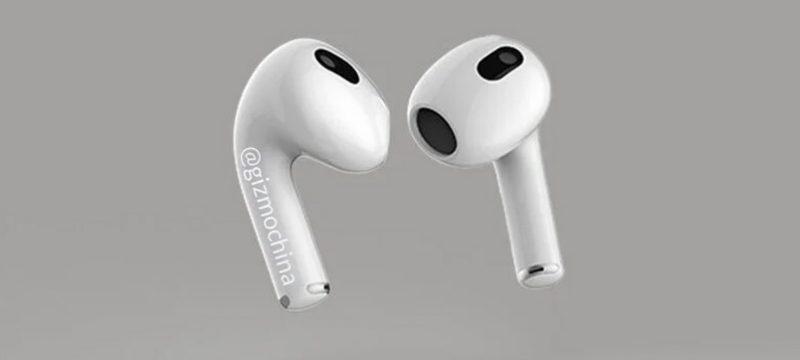 Apple AirPods 3 leak