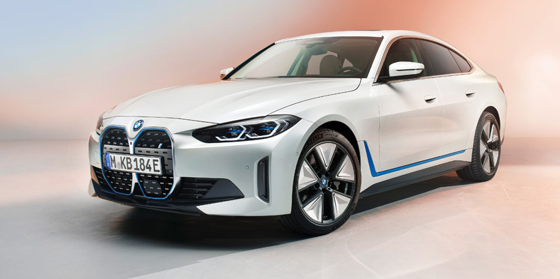 BMW i4: el nuevo Gran Coupé de 4 puertas totalmente eléctrico