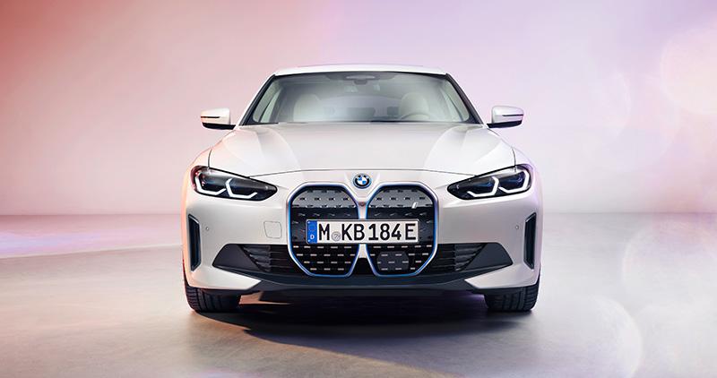 BMW i4 2022 frontal