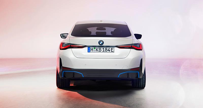 BMW i4 2022 trasera