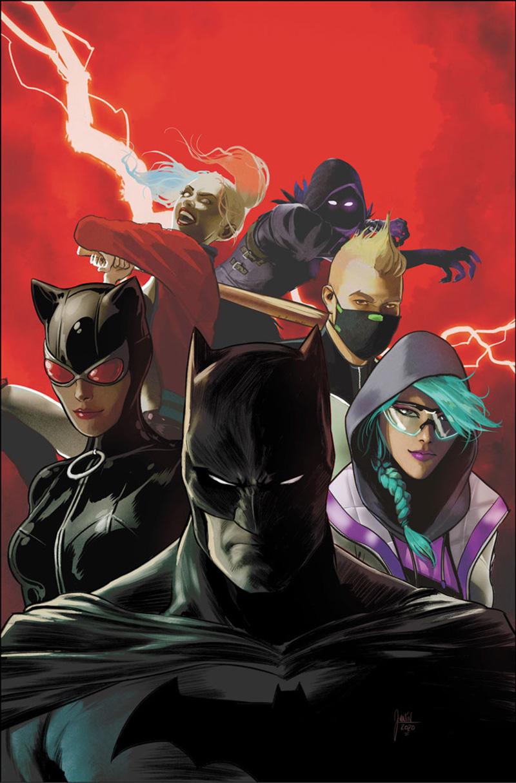 Batman:Fortnite Zero Point poster DC