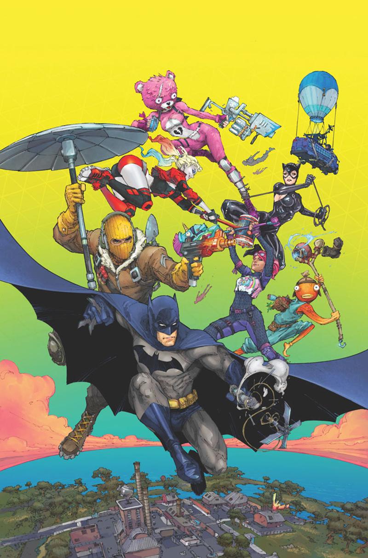 Batman:Fortnite Zero Point poster Epic