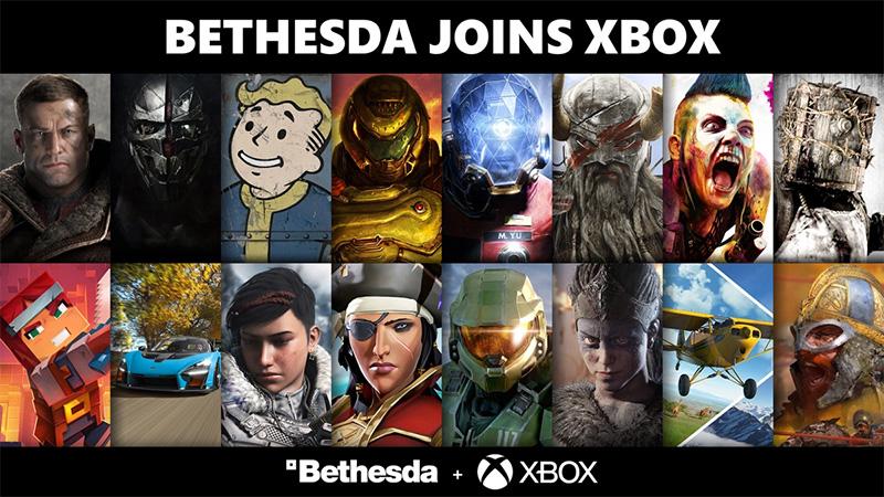 Xbox le da la bienvenida a ZeniMax Media y Bethesda Softworks