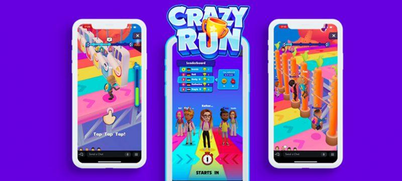Bitmoji for Games Gismart Crazy Run