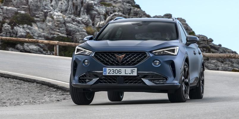 CUPRA Formentor supera las pruebas de seguridad Euro NCAP