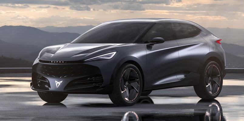 CUPRA Tavascan el nuevo vehículo totalmente eléctrico para 2024