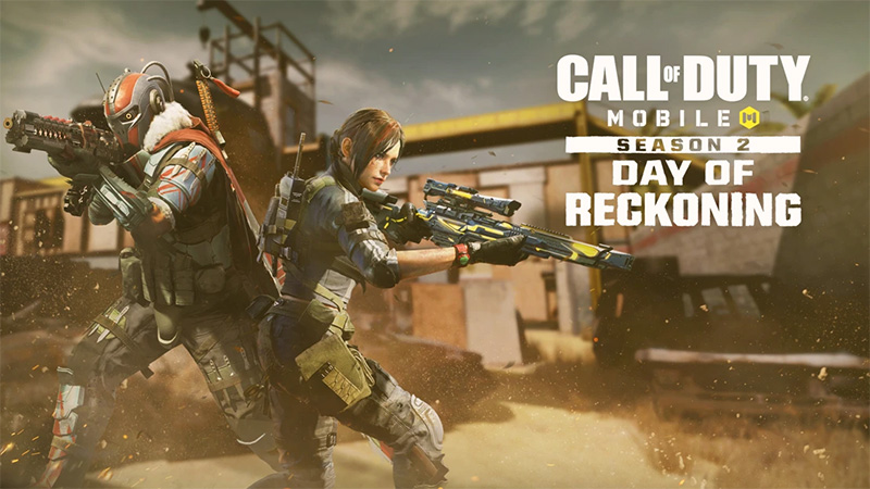 Contenido de Call of Duty Mobile: Temporada 2: Day of Reckoning