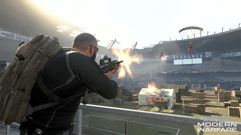 Call of Duty Warzone 1 aniversario Estadio bans