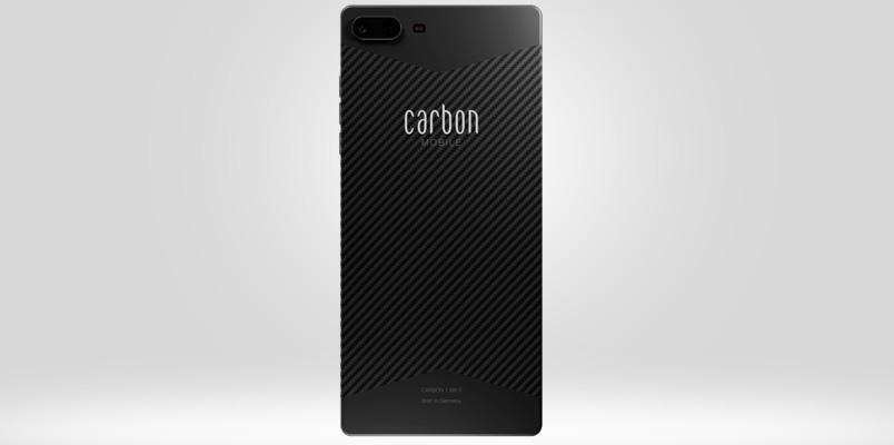 Carbon 1 MK II: primer smartphone fabricado con fibra de carbono