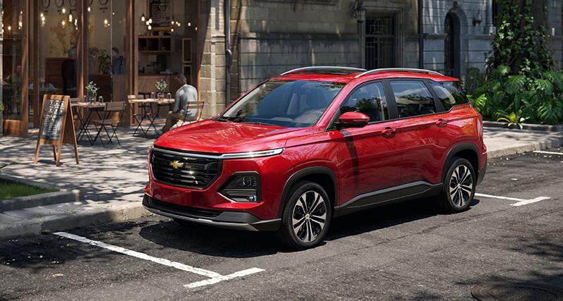 Chevrolet Captiva 2022 precio