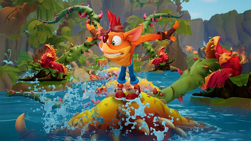 Crash Bandicoot 4: It's About Time llega a la nueva generación