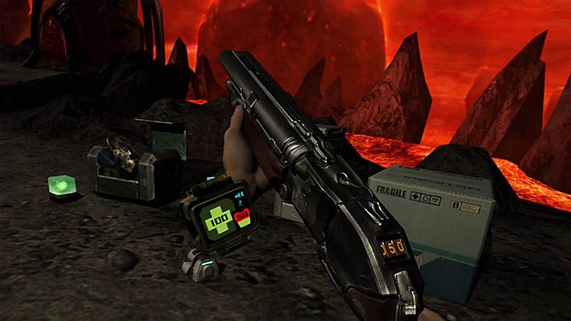 DOOM 3 VR Edition armas