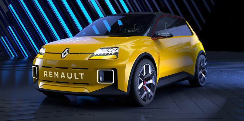 El nuevo diamante de Renault que mira al futuro sustentable