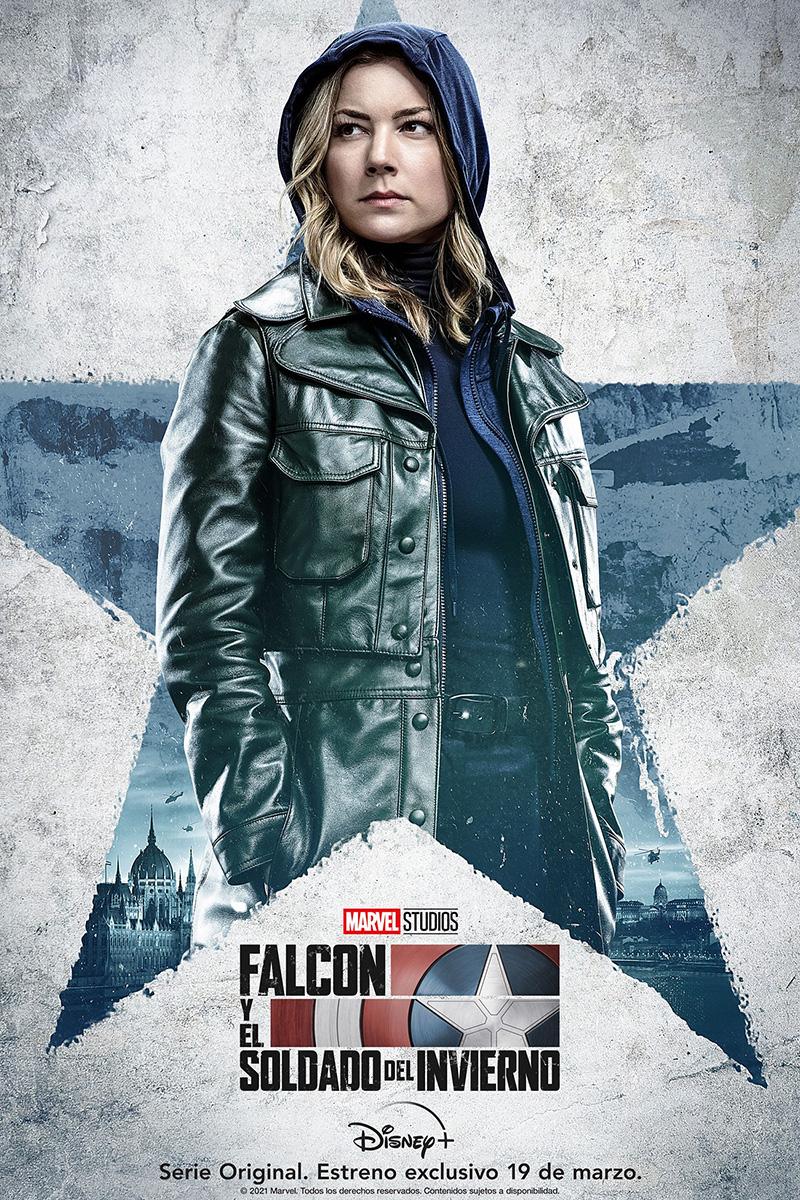 Falcon y el Soldado del Invierno posters Sharon Carter
