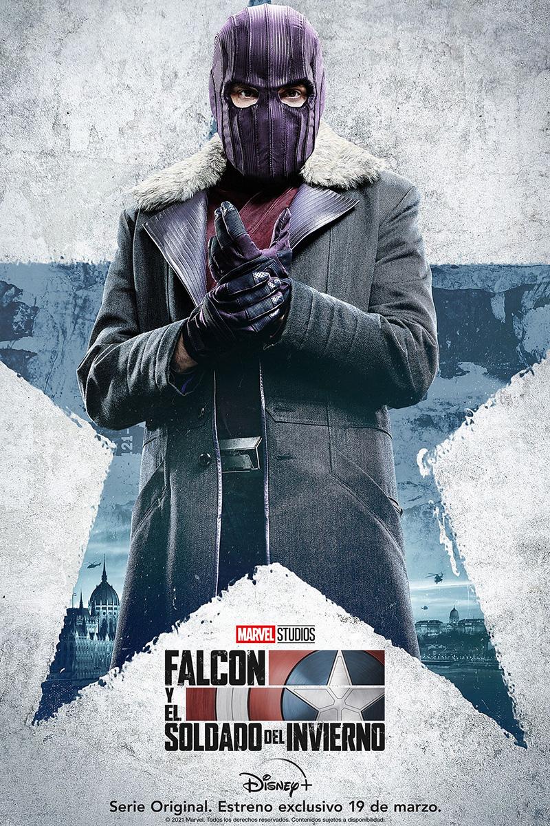 Falcon y el Soldado del Invierno posters Zemo