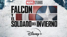 Póster de los personajes de Falcon y el Soldado del Invierno
