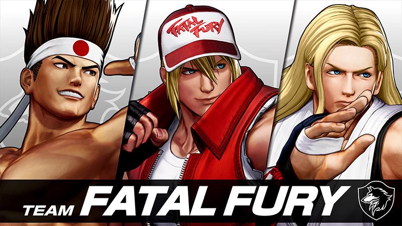 Conoce al equipo Fatal Fury que llegará a The King of Fighters XV