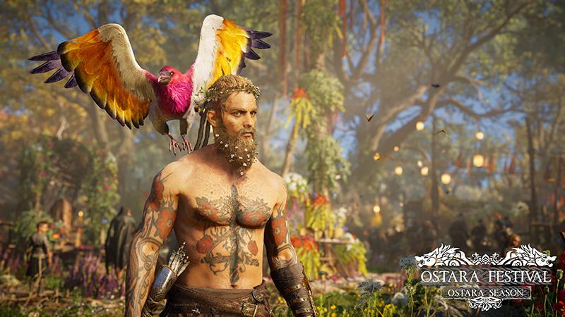 Festival de Ostara de Assassins Creed Valhalla PS5