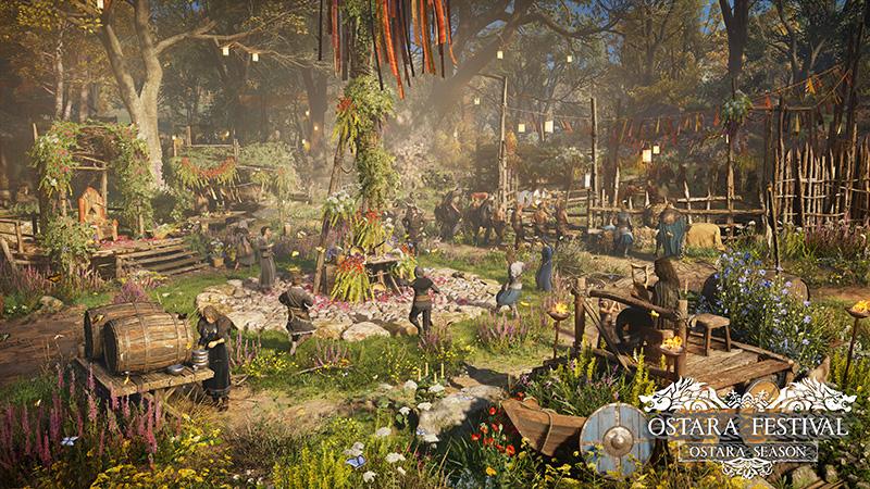 Festival de Ostara de Assassins Creed Valhalla Xbox Series