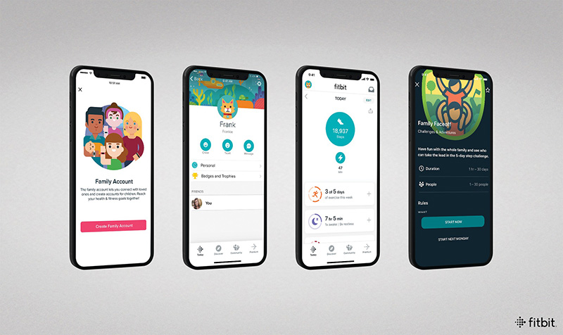 Fitbit Ace 3 App Familia
