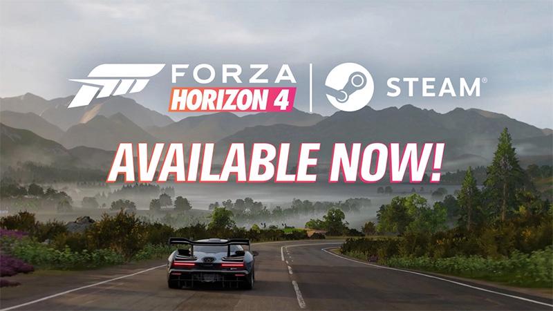 Forza Horizon 4  ya está disponible para usuarios de Steam