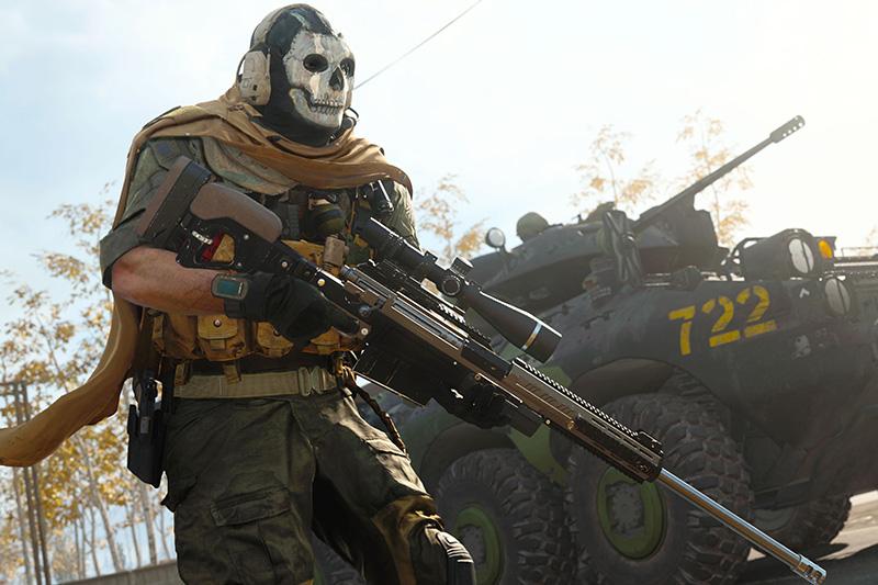Ghost COD Modern Warfare COD Mobile