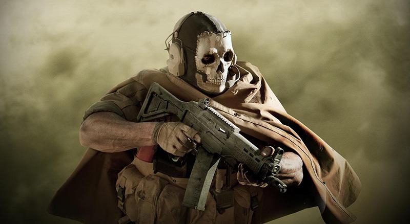 El Ghost de Modern Warfare estará en Call of Duty Mobile