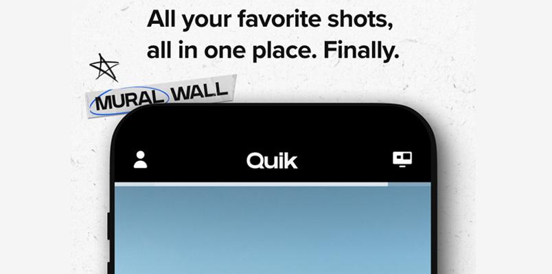 GoPro presenta Mural; la nueva función de su aplicación Quick
