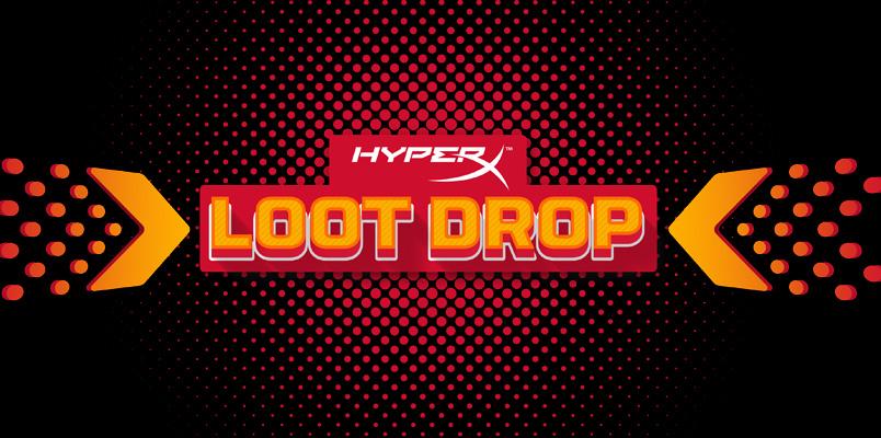 HyperX agredece a todos sus fans con el evento especial Loot Drop