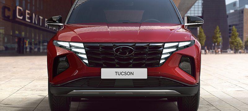 Hyundai Tucson 2022 frontal