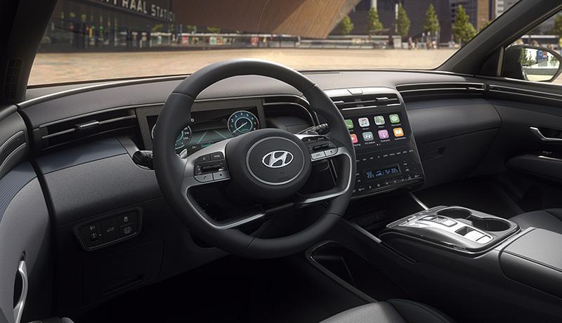 Hyundai Tucson 2022 tecnologia conectividad