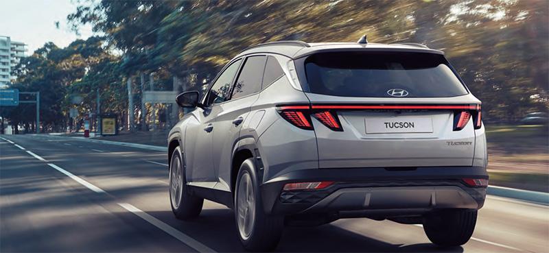 Hyundai Tucson 2022 trasera