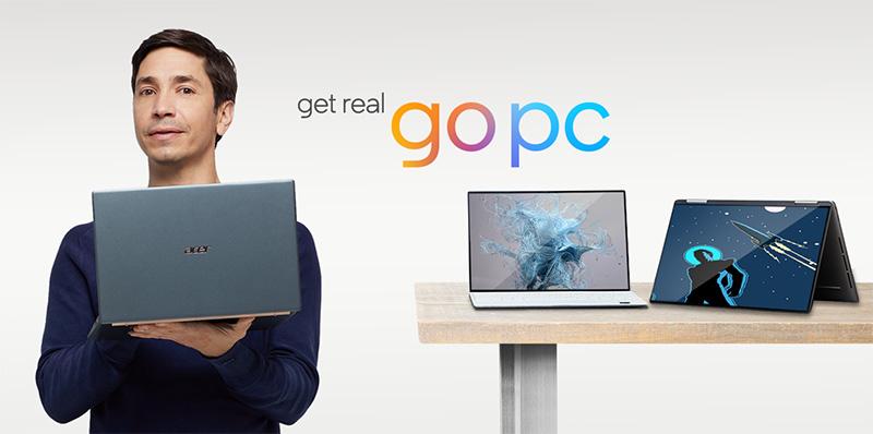 La campaña de Intel y Justin Long contra Apple y sus MacBook
