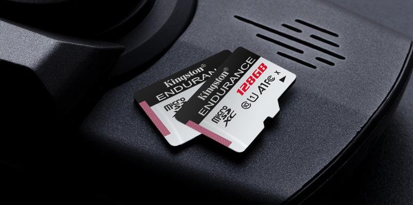 Kinkston High-Endurance microSD camaras videovigilancia capacidades