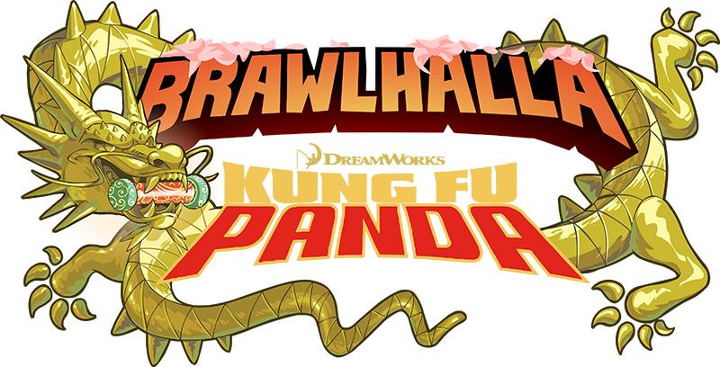 Kung Fu Panda x Brawlhalla logo
