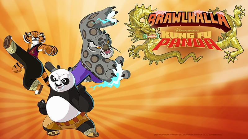 Ya puedes pelear con Po, Tigresa y Tai Lung en Brawlhalla
