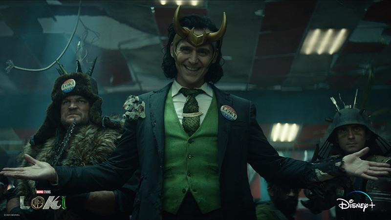 Éste es el primer póster oficial de la nueva serie de Loki