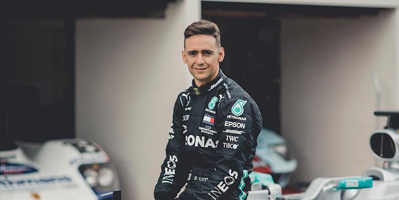 Mercedes-AMG Petronas F1 Team Esteban Gutierrez embajador