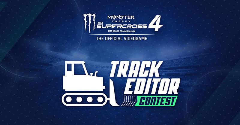 Crea una pista real para el Monster Energy Supercross 2022