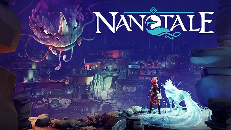 Nanotale – Typing Chronicles ya está disponible en Steam y GOG