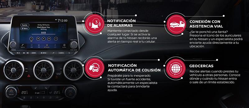 NissanConnect Services alarmas